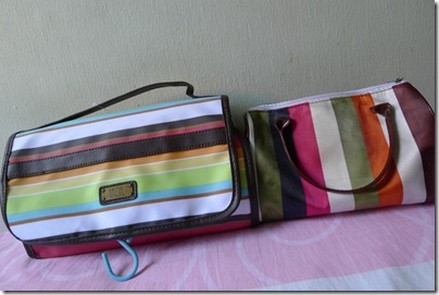 old vs new cosmetic bag