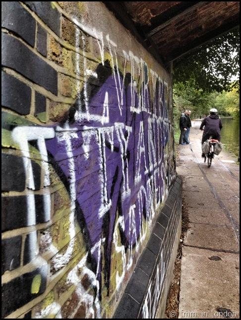Graffiti Regent's Canal