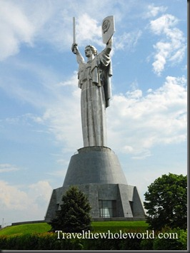 Ukraine-Kiev-Mother-Russia