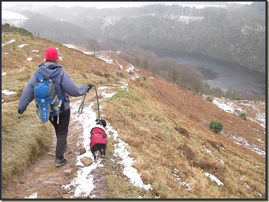 Descending from Nicky Nook into Grize Dale