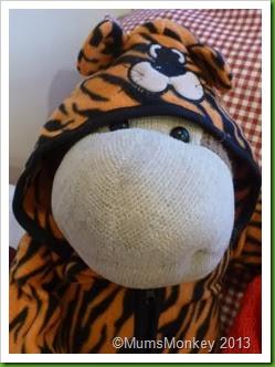 Tiger Onsie Christmas present primark