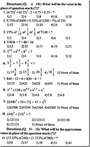 IBPS PO Quantitative Aptitude questions with answers ...
