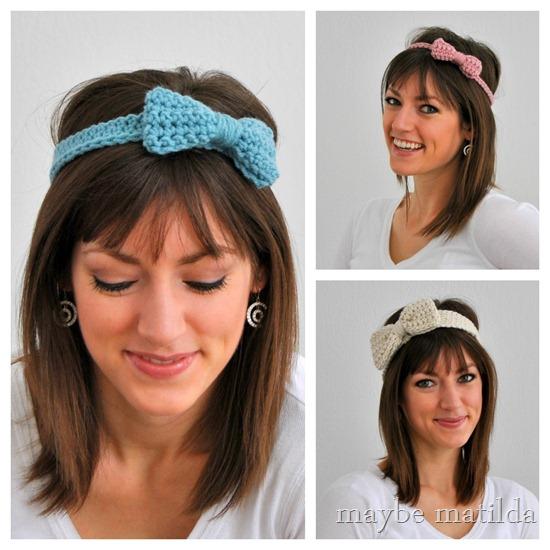 Bow Headbands by Maybe Matilda