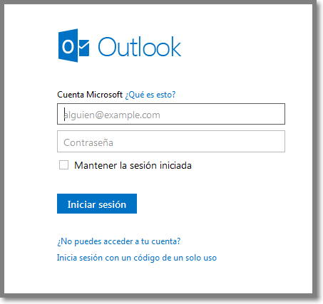entrar a outlook