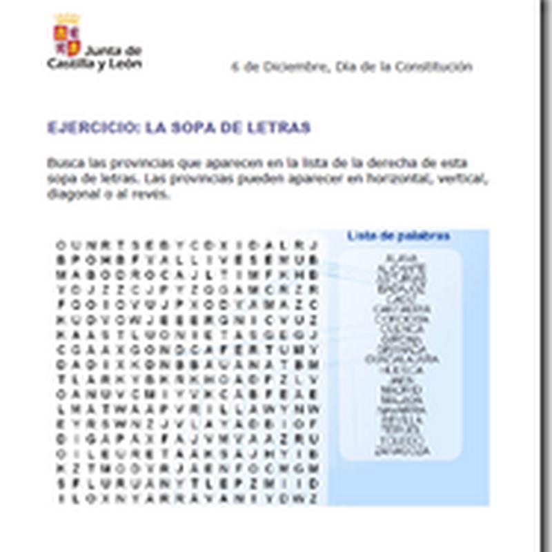 Día de la constitución española recursos didácticos