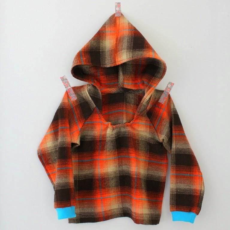 happy homemade hoodie
