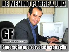 de menino pobre a juiz - Marcelo Carneval