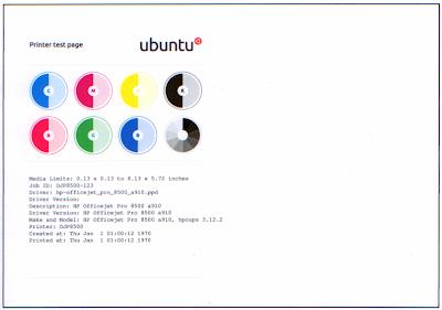 la nuova pagina di stampa di Ubuntu 12.04