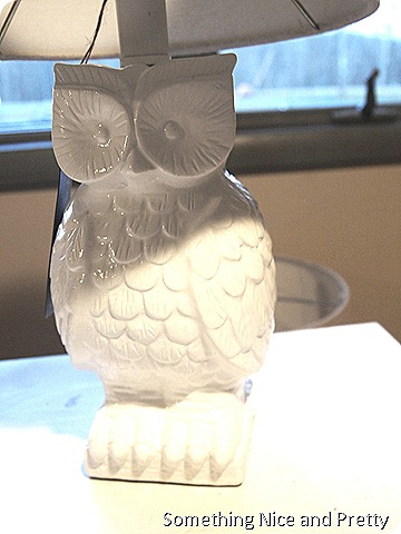 Owl lamp and basket 008
