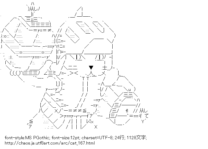 [AA]オトモアイルー(モンスターハンター)