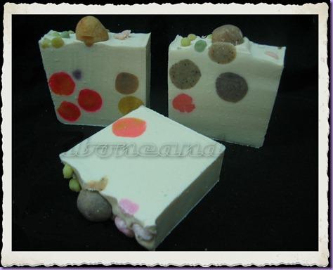 Jabón de manteca de karité con bolas