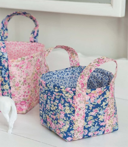 Sew Pretty  for Little Girls book fabric baskets
