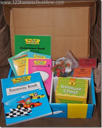 Homeschool Language Arts Program - Sing Spell Read and Write