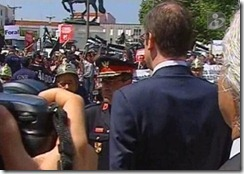 Passos Coelho recebido com apupos em Cantanhede. Jul.2012
