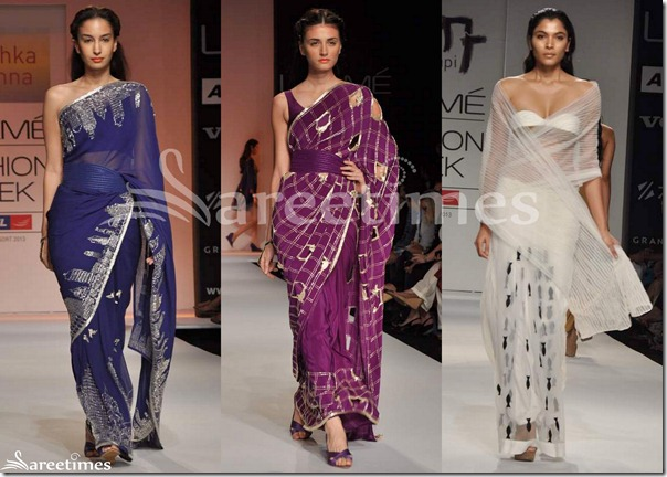 Anushka_Khanna_and_Nikhil_Thampi_Sarees_Day_2_LFW_Summer_Resort_2013