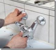 plumber install mixer