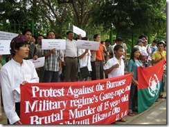 Kachin protests