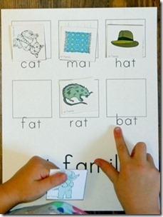 word family printable