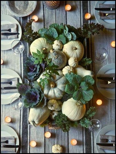 gourds & kale