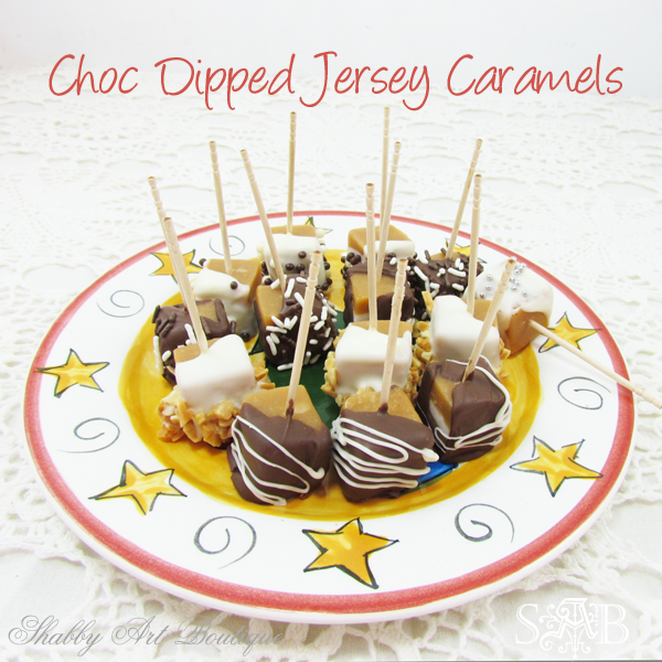 Shabby art Boutique Jersey Caramels 1