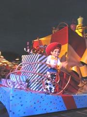 Disney trip parade Jessie toy story