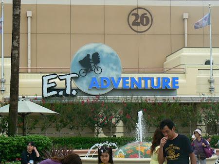 Imagini Universal Studios: ET Adventure