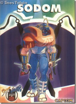 Sodom 1 - Card Street Fighter Zero 2