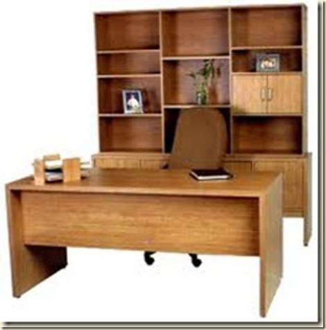 Escritorios de madera para oficina decoraci n de - Modelos de escritorios de madera ...