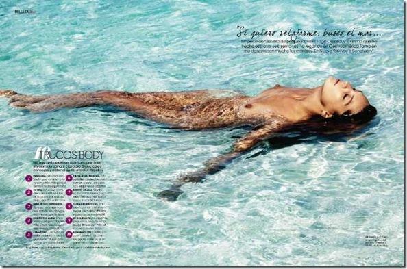 Elle Spain May 2011 Daria Werbowy5