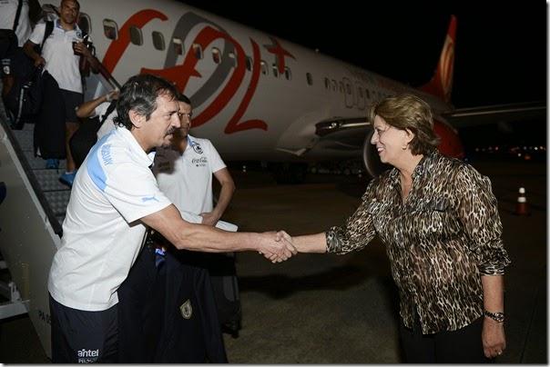 Governadora recepciona delegação do Uruguai - Elisa Elsie (6)