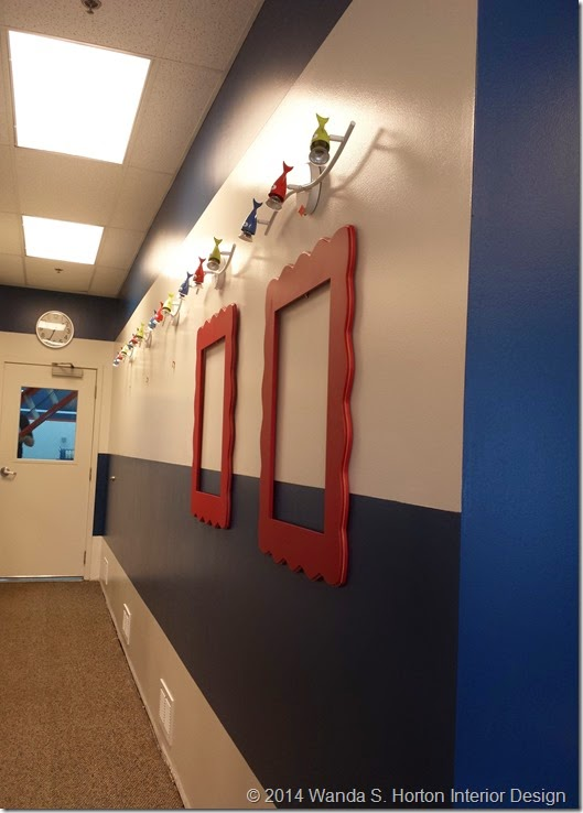 Charlotte Swim Academy Installation - Wanda S. Horton Interior Design