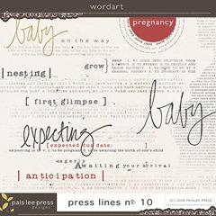 pregnancy wordart