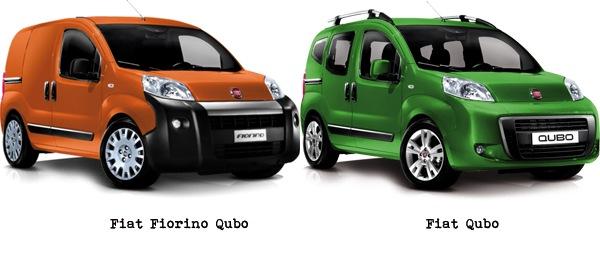 Fiat Qubo y Fiorino Qubo 2012