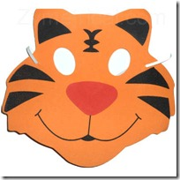 tiger-foam-mask