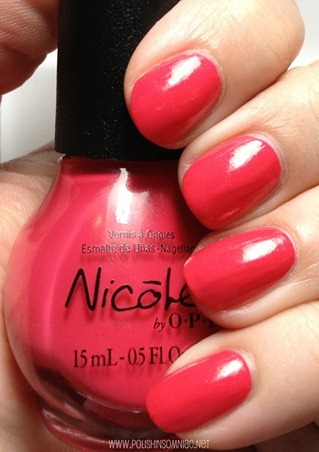 Nicole by OPI A Like-Haley Story...
