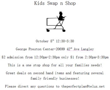 Kids Swap n Shop