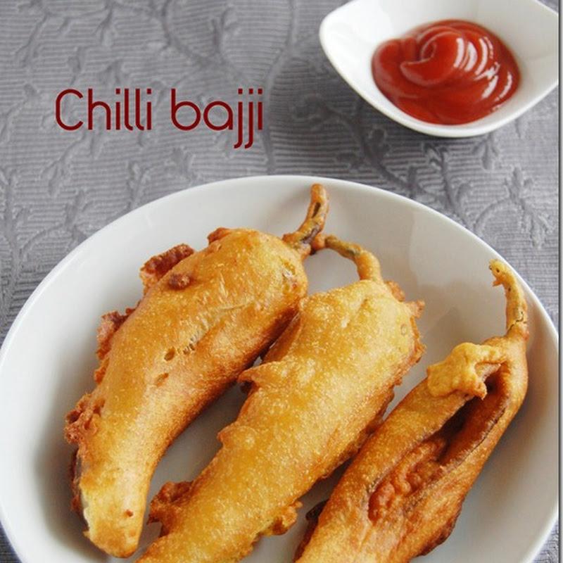 Chilli bajji / Milagai bajji