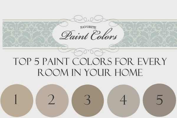 Top 5 paint colors for every room in your home - Favorite Paint Colors