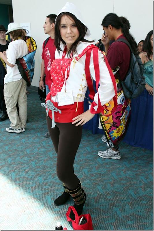 Belas garotas de cosplay na Comic Con 2011 (1)