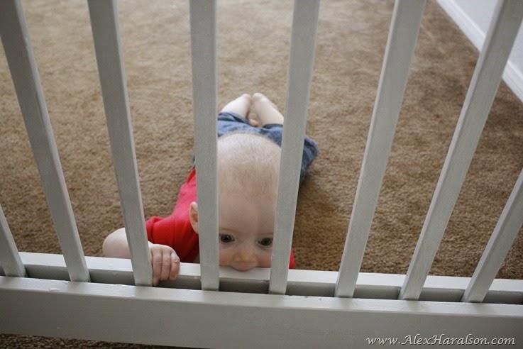 DIY Baby Gate19