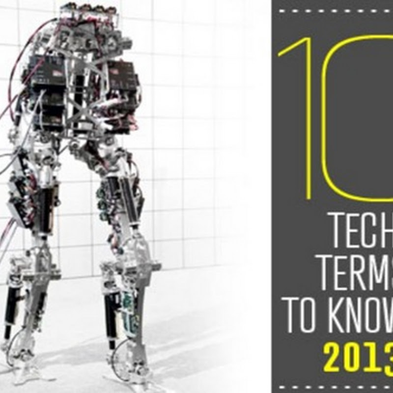 10 TECH TERMS TO KNOW IN 2013