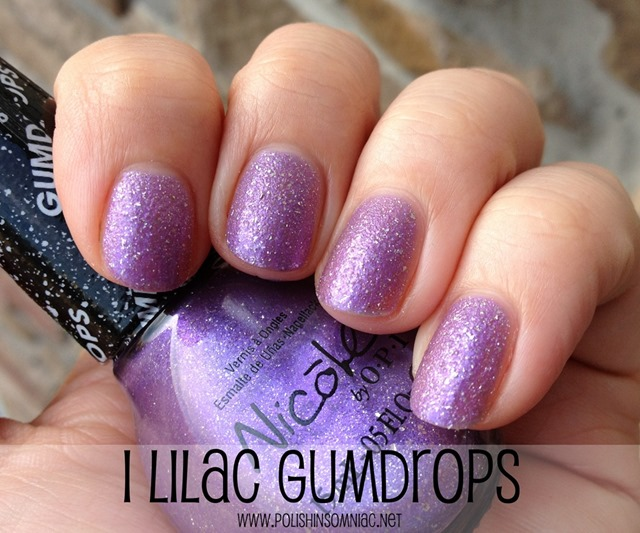 Nicole by OPI I Lilac Gumdrops
