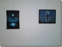 La steaua si lacul, picturi inspirate din poeziile lui Mihaai Eminescu la galeria AAPB din Herastrau