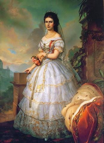 este dibujo muestra la visita que hicieron los zares Nicolas y Alejandra a austria en agosto de 1896