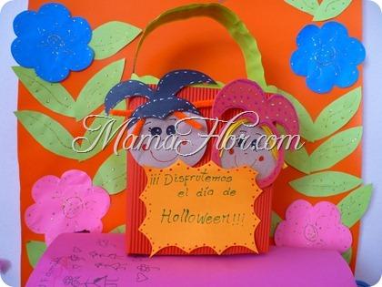 Caja de dulces para Halloween