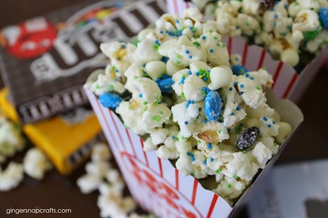 popcorn, m&ms & a movie