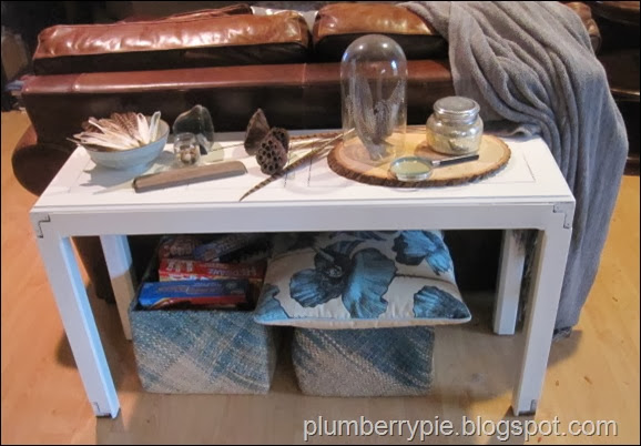 table makeover and fall decor - plumberry pie