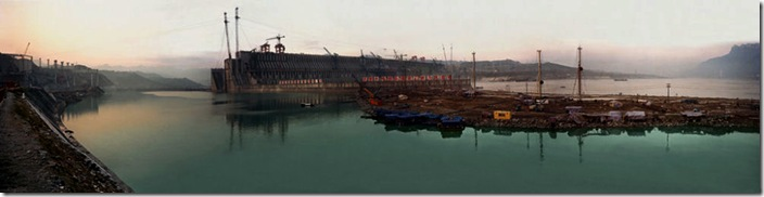 Dam #2 - Three Gorges Dam © Edward Burtynsky