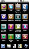 ADW Launcher EX drawer stile iphoneish