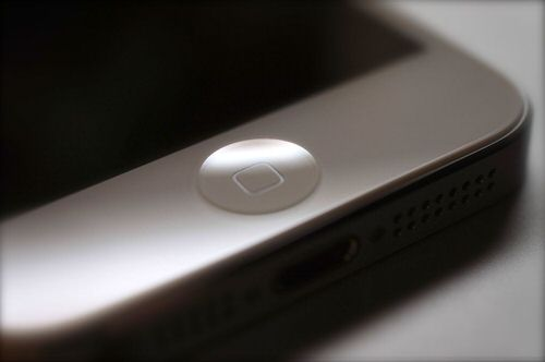 Iphone home button fix trick